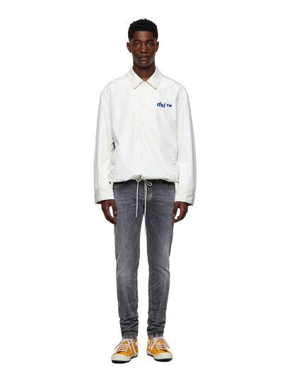 Diesel - Sleenker 009FW, Light Grey - Jeans - Image 5