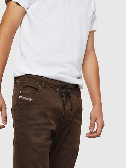 Diesel - Krooley JoggJeans 0670M, Brown - Jeans - Image 3