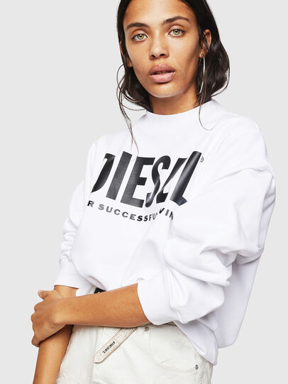 Diesel - F-ANG, White - Sweaters - Image 5
