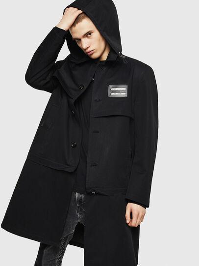 Diesel - J-KODORY, Black - Jackets - Image 1