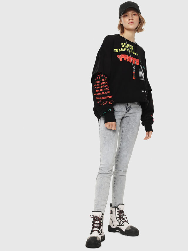 Diesel - Gracey JoggJeans 069FE, Light Blue - Jeans - Image 4
