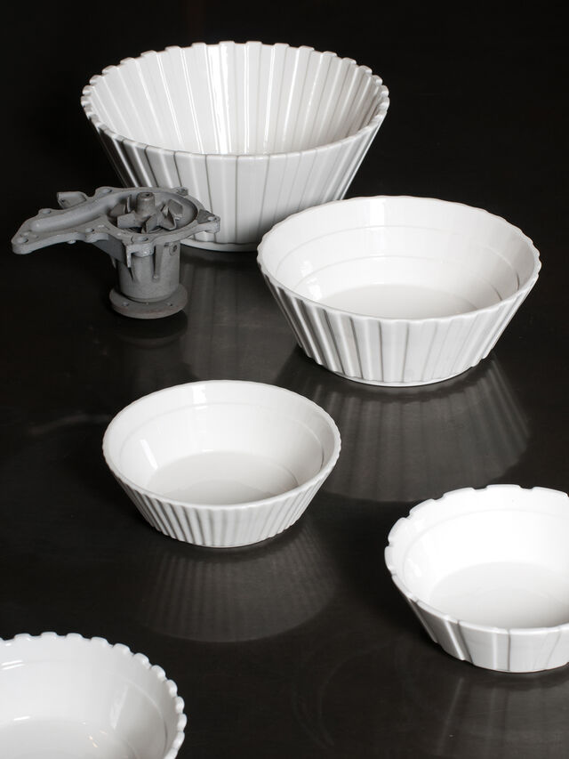 Living 10980 MACHINE COLLEC, White - Bowl - Image 4