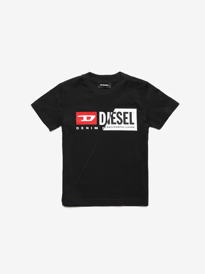 Diesel - TDIEGOCUTYB-R, Black - T-shirts and Tops - Image 1