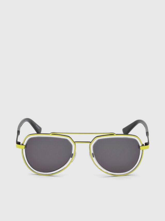 Diesel - DL0266, Yellow - Sunglasses - Image 1