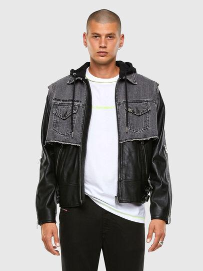 Diesel - L-IVAN,  - Leather jackets - Image 7