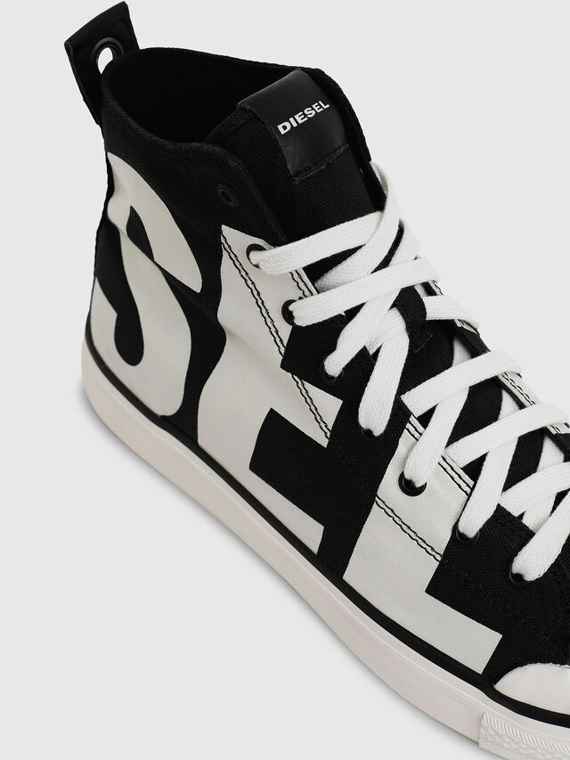 Diesel - S-ASTICO MC, Black/White - Sneakers - Image 4