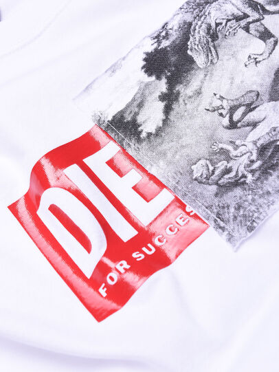 Diesel - TJUSTXH, White - T-shirts and Tops - Image 3