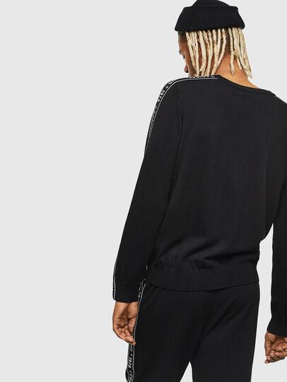 Diesel - K-TRACKY-C, Black - Knitwear - Image 2