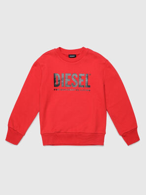 SCREWDIVISION-LOGO O, Red - Sweaters