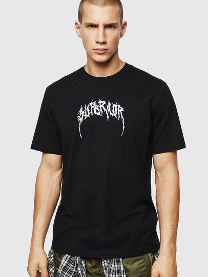 Diesel - T-JUST-BX7, Black - T-Shirts - Image 1