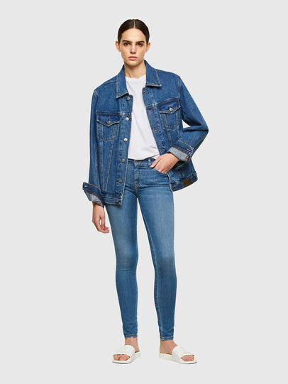 Diesel - Slandy 069RR, Light Blue - Jeans - Image 4