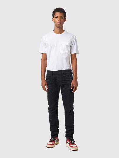 Diesel - Sleenker 09A75, Black/Dark grey - Jeans - Image 5