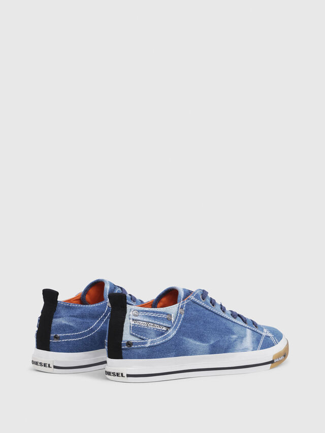 Diesel - EXPOSURE LOW I, Blue Jeans - Sneakers - Image 3