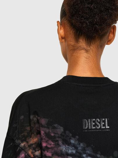 Diesel - S-MART-A92, Black - Sweaters - Image 4
