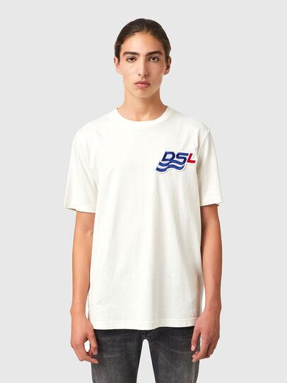 Diesel - T-JUST-B83, White - T-Shirts - Image 1