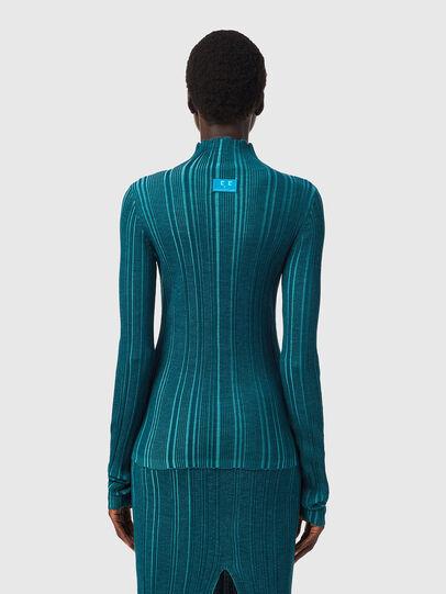 Diesel - M-ALBERTA, Water Green - Knitwear - Image 2