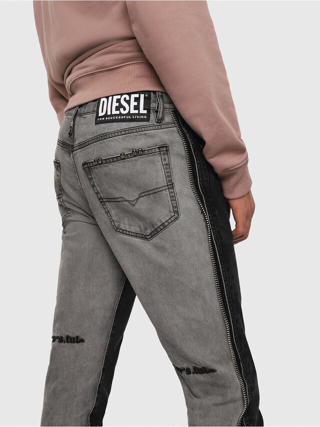 Diesel - Mharky 082AN, Black/Dark grey - Jeans - Image 4