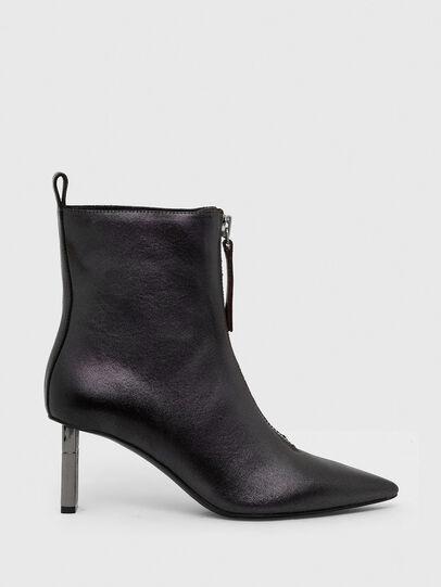 Diesel - D-LEZIPPO MAB, Dark Violet - Ankle Boots - Image 1