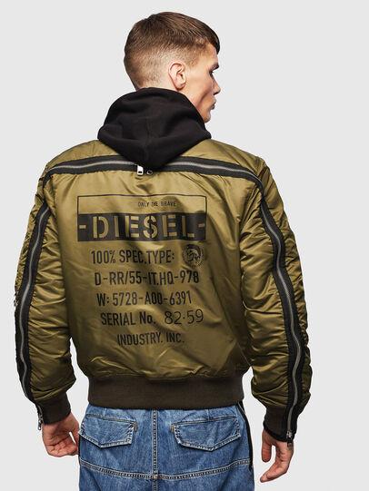Diesel - J-MARTEN, Military Green - Jackets - Image 2