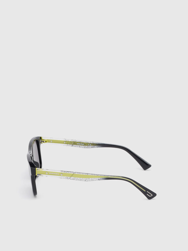 Diesel - DL0279, Black/Yellow - Sunglasses - Image 3
