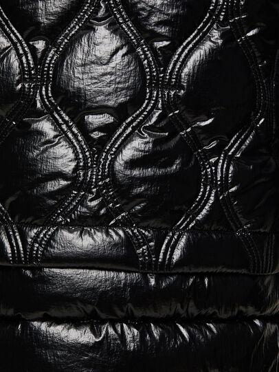 Diesel - W-CRAWFORD-SHINY, Black - Winter Jackets - Image 5