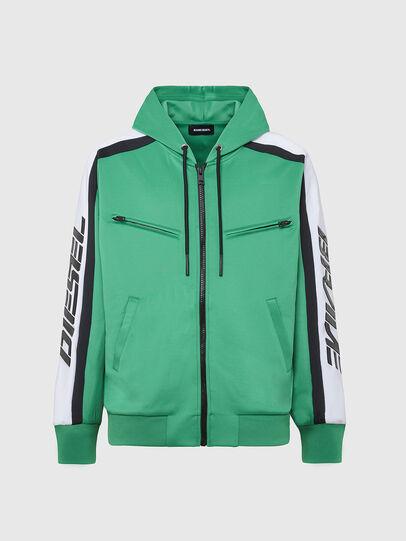 Diesel - S-STEEL, Green - Sweaters - Image 1