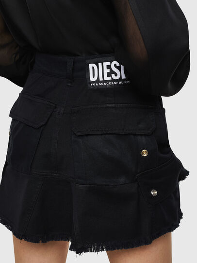 Diesel - O-AMATA-A, Black - Skirts - Image 2