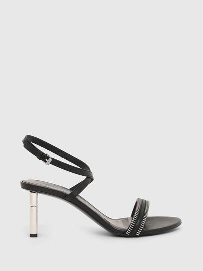 Diesel - SA-LEZIPPO, Black - Sandals - Image 1