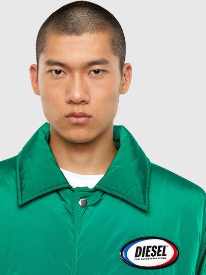 Diesel - W-KODYN, Green - Winter Jackets - Image 5