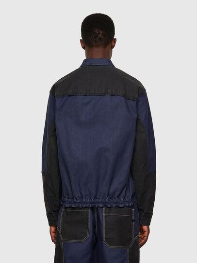 Diesel - D-FETZ-SP JOGGJEANS, Black/Blue - Denim Jackets - Image 2
