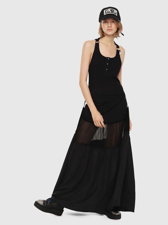 Diesel - D-SAIGE, Black - Dresses - Image 1