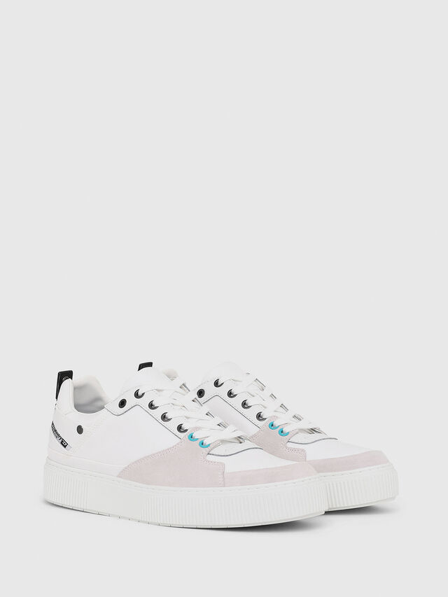 Diesel - S-DANNY LC, White - Sneakers - Image 2