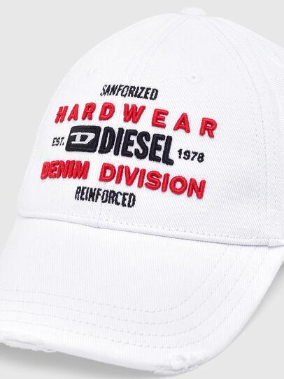 Diesel - C-DIVISION, White - Caps - Image 3