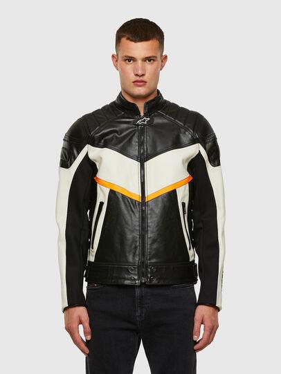 Diesel - ASTARS-LDUE-B,  - Leather jackets - Image 1