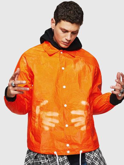 Diesel - J-AKINATOR-TVK, Orange - Jackets - Image 3