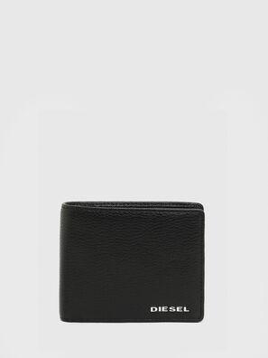 HIRESH S, Black/Orange - Small Wallets
