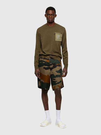 Diesel - K-NAVAJO, Military Green - Knitwear - Image 5