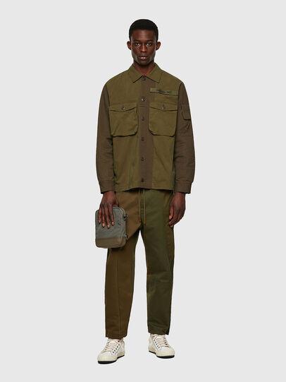 Diesel - S-ADAIR, Olive Green - Shirts - Image 4