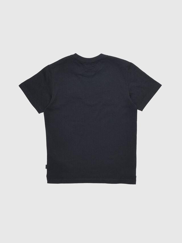 Diesel - TJUSTXMAS, Black - T-shirts and Tops - Image 2