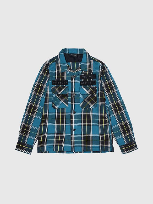 Diesel - CTAKESHI, Blue/Black - Shirts - Image 1