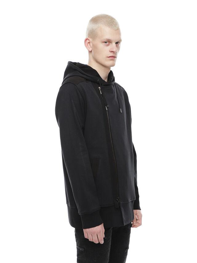 Diesel - SIRO, Black - Sweaters - Image 3