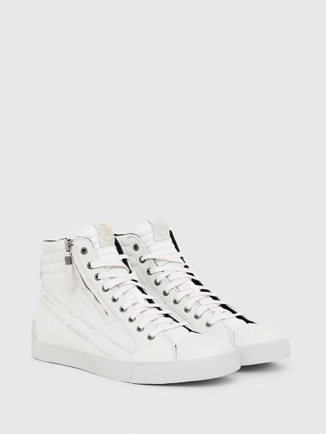 Diesel D-STRING PLUS, White - Sneakers - Image 2