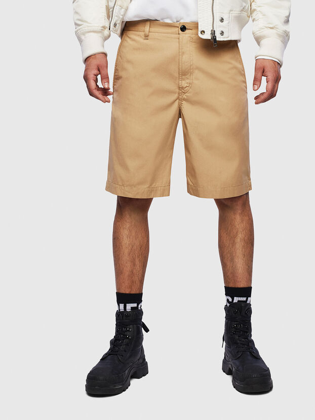 P-MATTHEW, Beige - Shorts