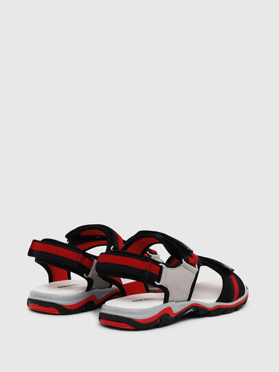 Diesel - SA 07 STRIPE YO, Grey/Red - Footwear - Image 3