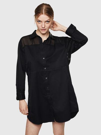 Diesel - D-FLOWY, Black - Dresses - Image 1