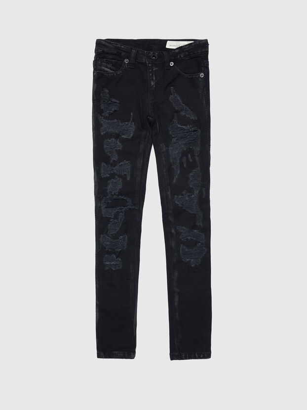 SKINZEE-LOW-J-N, Black - Jeans