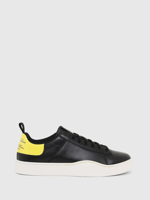 S-CLEVER LOW LACE, Black/Yellow - Sneakers