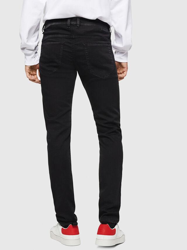 Diesel - Thommer JoggJeans 0687Z, Black/Dark grey - Jeans - Image 2