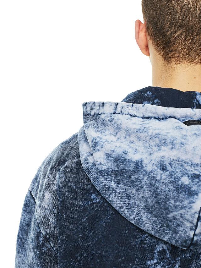 Diesel - FYOVER, Blue/White - Sweaters - Image 4