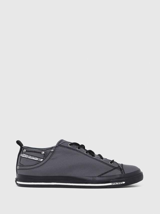 Diesel - EXPOSURE LOW I, Dark grey - Sneakers - Image 1